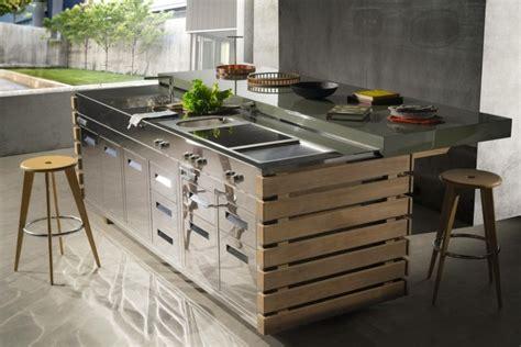 meuble cuisine exterieure bois meuble bois exterieur dootdadoo com idées de