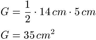 prisma formeln volumen oberflaeche