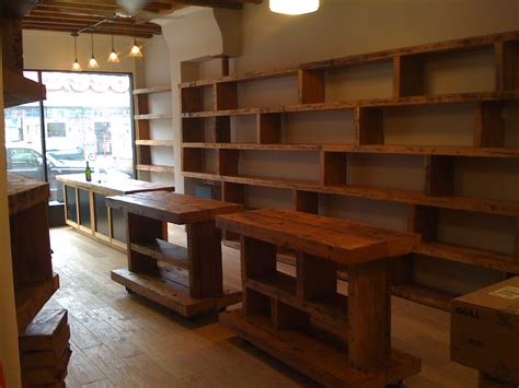 Wood Shelving Up The Wallpos Counter Reclaimed Wood Top