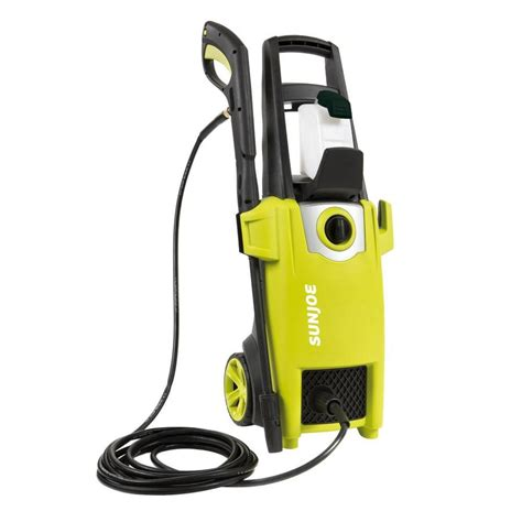 shop sun joe 1700 psi 1 59 gpm cold water electric pressure washer at lowes