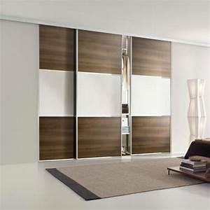 Fabriquer Porte Coulissante Placard : fabriquer porte de placard coulissante maison design ~ Premium-room.com Idées de Décoration