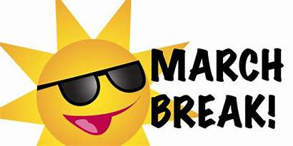 Break March Clip Spring Clipart Activities Closed