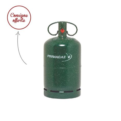 bouteille de gaz propane 13 kg 10 consigne inclus
