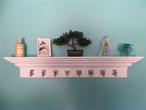 crown moulding floating shelves handmade 48 quot crown molding floating wall shelve with 8 6307
