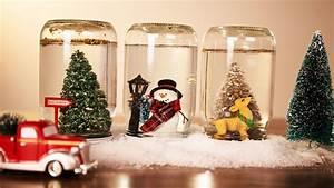 Weihnachtsbaum Wasser Geben : 1001 ideen wie sie eine zauberhafte schneekugel selber machen ~ Bigdaddyawards.com Haus und Dekorationen