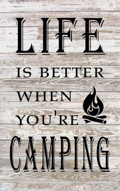 custom camping sign painted    campsite rv camper sign  beer fire marshmallows