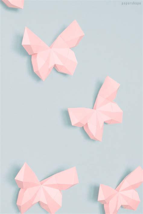 3d schmetterlinge basteln ostereier basteln mit papier mit vorlage papershape