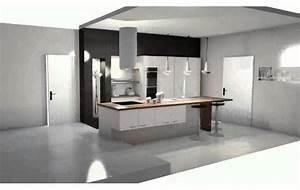 Meuble Cuisine Design : meuble cuisine pas cher youtube ~ Teatrodelosmanantiales.com Idées de Décoration