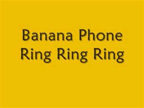 phone lyrics raffi banana phone lyrics