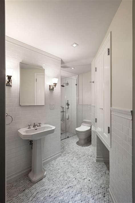 nyc bathroom design pre war apartment traditional bathroom new york by virtus design