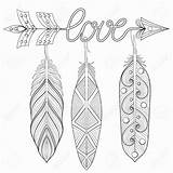 Arrow Drawing Word Feather Feathers Hobby Lobby Coloring Rbg Getdrawings Adult Draw Words sketch template