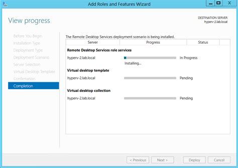 remote desktop services in windows server 2012 r2 single