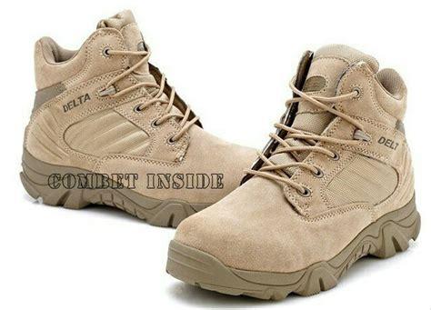 jual sepatu delta forsces 6 boots army desert di lapak