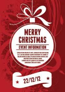 Free Printable Christmas Poster Templates