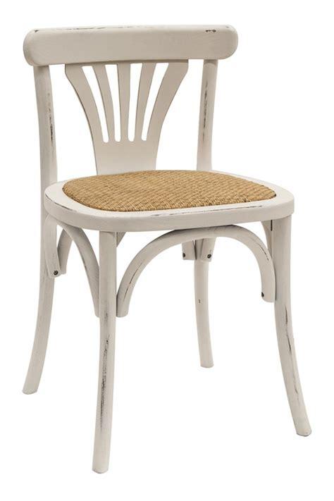 chaise bistrot en bois chaises bistro vintage fabriqu 233 es en bois mod 232 le jade