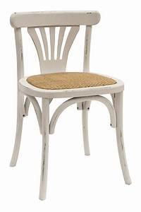 Chaise Bistrot Vintage : chaises bistro vintage fabriqu es en bois mod le jade ~ Teatrodelosmanantiales.com Idées de Décoration