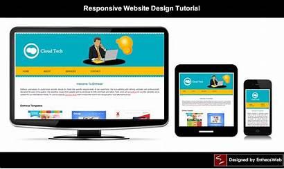 Website Tutorial Responsive Tutorials Css Web Create