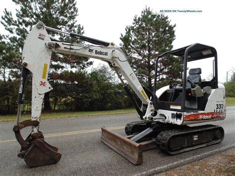 bobcat   compact mini excavator rubber pads  mississippi