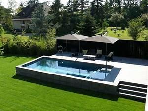 Piscine Hors Sol Plastique : choisir un type de piscine pour sa maison info jardinage ~ Premium-room.com Idées de Décoration