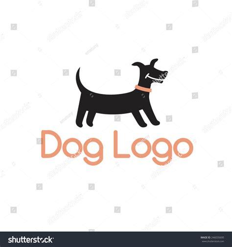 Smiling Dachshund Abstract Dog Logo Design Stock Vector ...