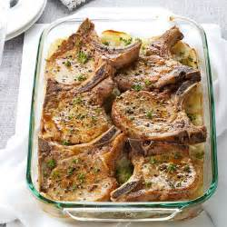 pork chops with scalloped potatoes recipe taste of home