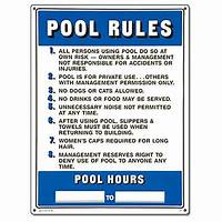 "pool rules sign Poolmaster ""Pool Rules"" Sign for Residential or Commercial ..."