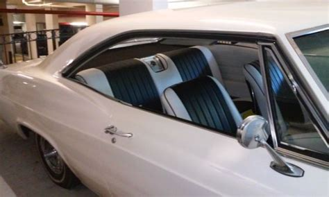 chevy impala ss  hard top pearl paint white