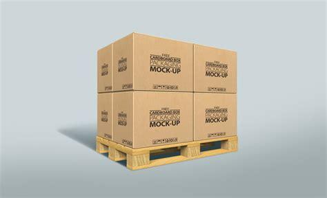 Set of wooden Vintage Boxes Mockups   MockupWorld