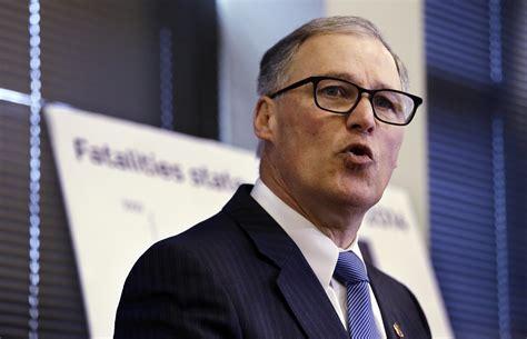 gov jay inslee orders  state data  gun violence