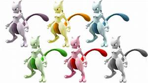 I Made Some Color Palettes For Mewtwo In Smash Bros Wii U