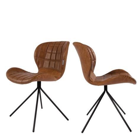 chaise design cuir noir chaise cuir noir design 18 idées de décoration intérieure decor