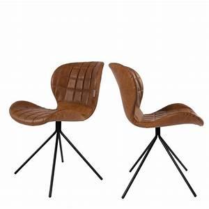 Chaise En Cuir Noir : chaise cuir noir design 18 id es de d coration int rieure french decor ~ Teatrodelosmanantiales.com Idées de Décoration