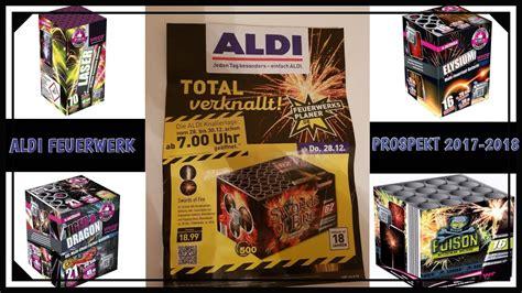 Aldi Feuerwerk Prospekt 2017-2018
