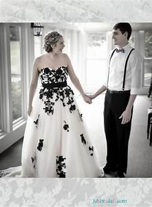 black and white wedding dress plus size wwwimgkidcom With plus size black and white wedding dresses