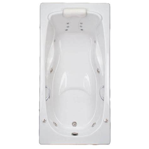 mansfield whirlpool tub mansfield baywood soaking tub jetted bathtub whirlpool