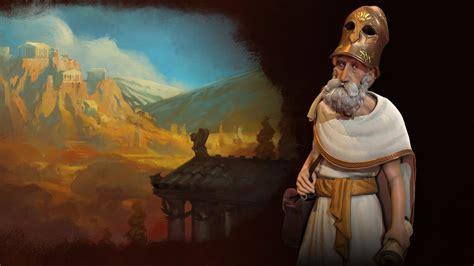 civilization  gameplay update meet greeces leader