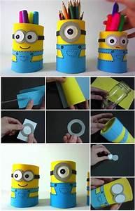 Comment Faire Un Bureau Soi Meme : 1001 id es pour fabriquer un pot crayon adorable soi m me ~ Melissatoandfro.com Idées de Décoration