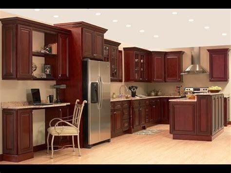 cherry kitchen cabinets modern kitchen cabinets youtube