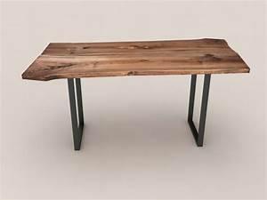 Wood Slab Table 3d Model  U2013 Zb