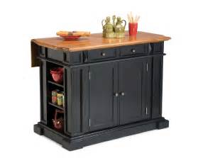black island kitchen home styles black cottage oak kitchen island 5003 94