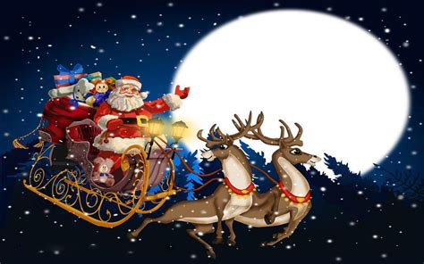 Animated Santa Wallpaper - santa claus wallpapers weneedfun