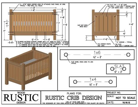 plans  baby cribs woodworking projects plans