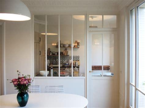 Verriere Interieur Cuisine - aménager une cuisine une verrière pour séparer sans