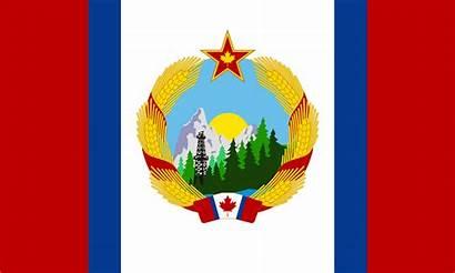 Communist Flag Canadian Reddit Vexillology