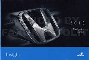 2010 Honda Insight Electrical Troubleshooting Manual Original