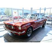 1965 Ford Mustang GT Convertible Red  Classic