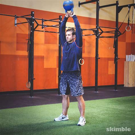 kettlebell skimble swings exercise exercises