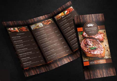 sample menu designs  psd eps