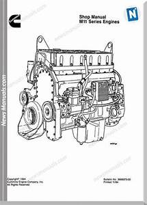 Cummins M11 Engine Diagram
