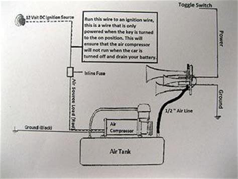chrome quad  trumpet train air horn kit psi